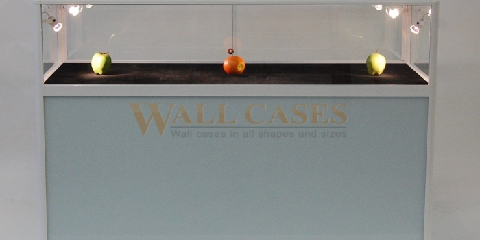 Counter display cases for emergency sales