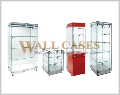 When buying a display case what are some key factors to consider?